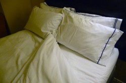 Image of pillows and sheets